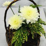 Composition florale japonaise